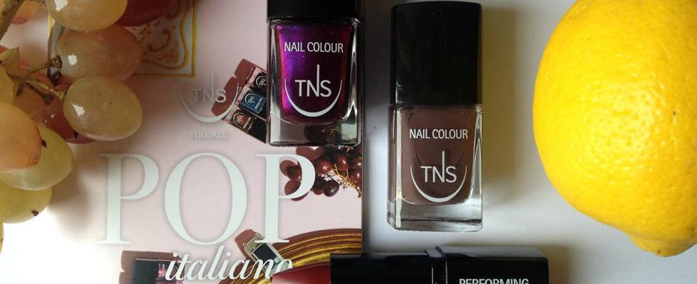 L'italian style diventa Pop Italiano con TNS Cosmetics