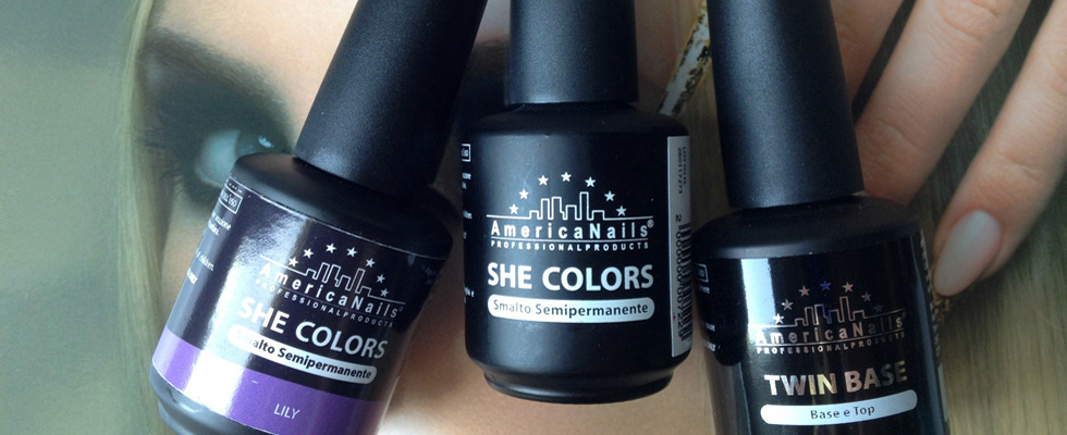 She Colors, smalti semipermanenti AmericaNails
