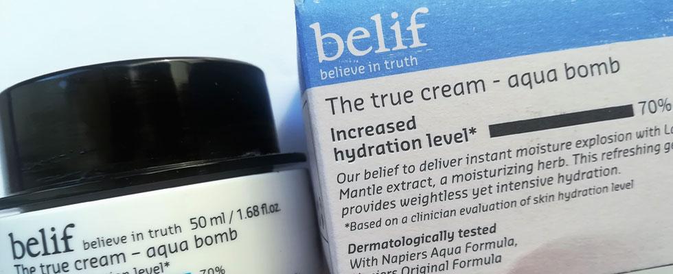 Aqua Bomb di Belif, la crema viso per l'inverno